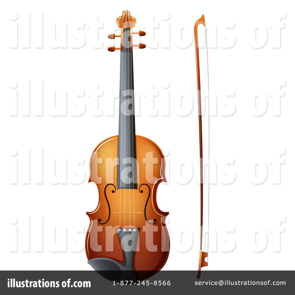 violin clipart #1205475 - illustrationgraphics rf