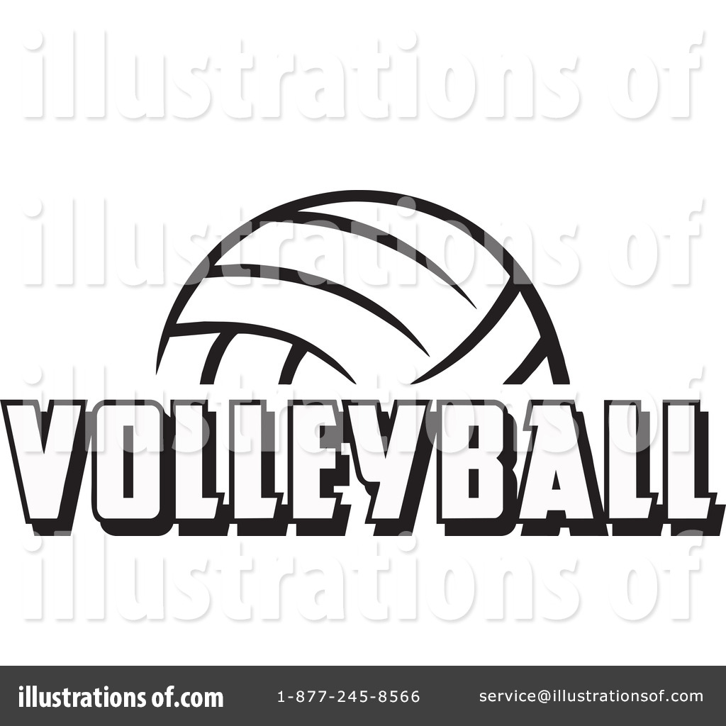 Volleyball Clipart 1222706 Illustration By Johnny Sajem