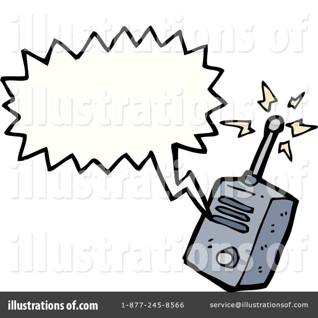 Walkie Talkie Clipart #1179424 - Illustration by lineartestpilot