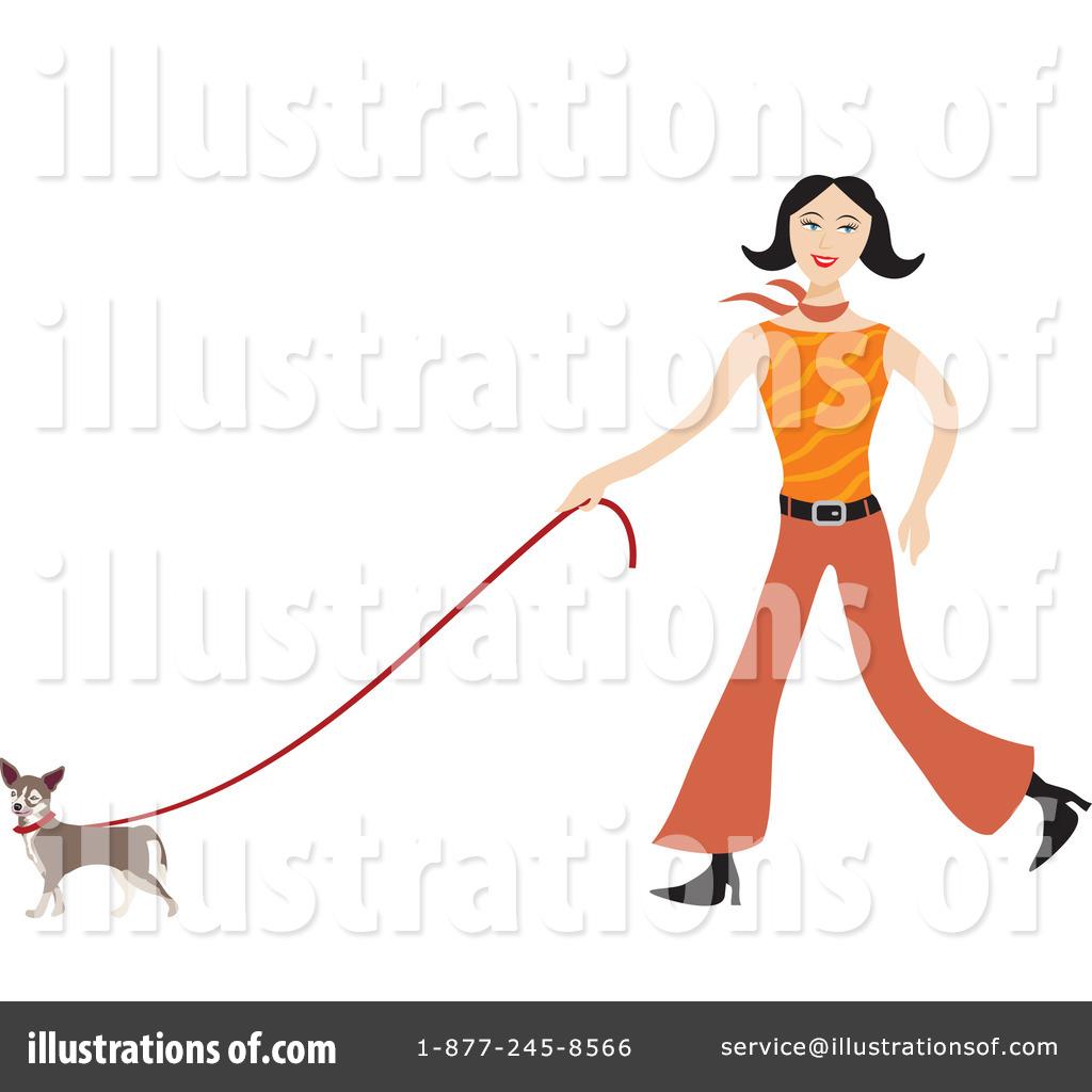 Walking Dog Clipart #78505 - Illustration by Prawny