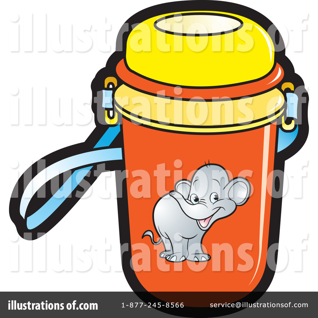 Water Bottle Clipart #228096 - Illustration by Lal Perera