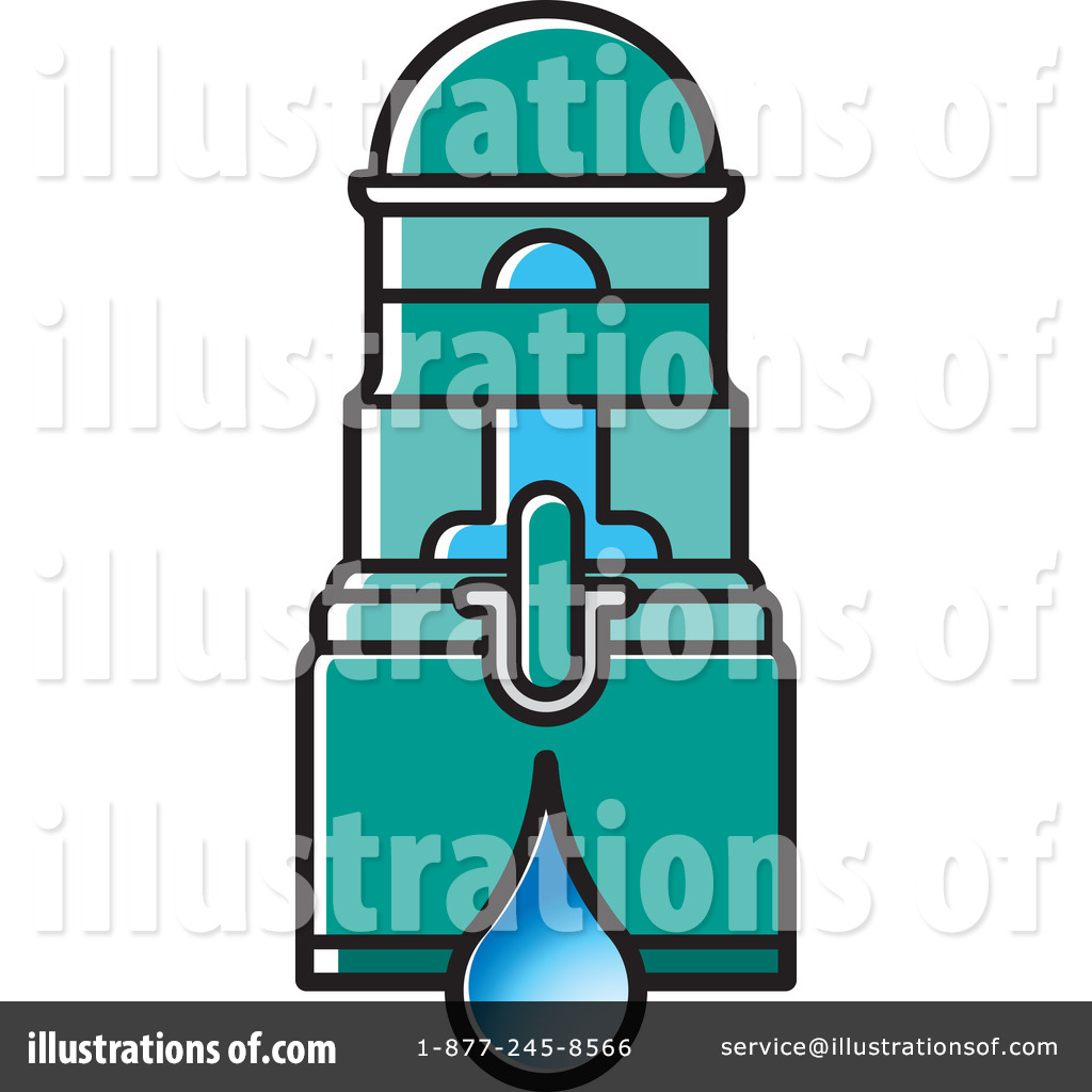 Water Filter Clipart #1233689 - Illustration by Lal Perera