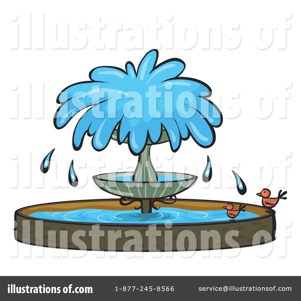Clip Art Fountain Clipart water fountain clipart 1151165 illustration by colematt royalty free rf colematt
