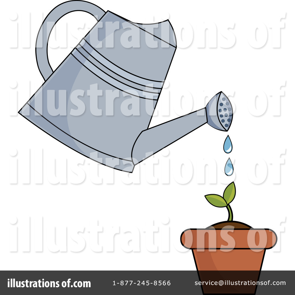 watering can clipart 1058310 illustration by pams clipart