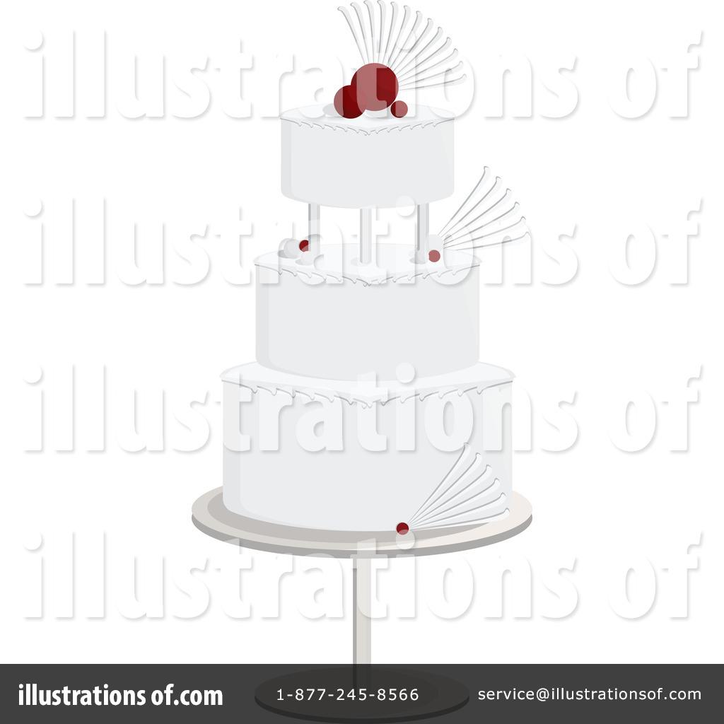 Wedding Cake Clipart 1093163 Illustration by Randomway
