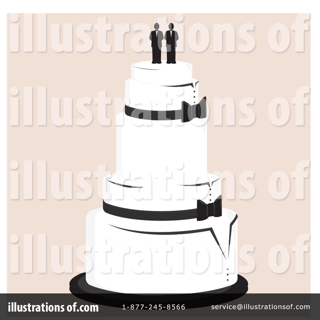 Wedding Cake Clipart 1093167 Illustration by Randomway