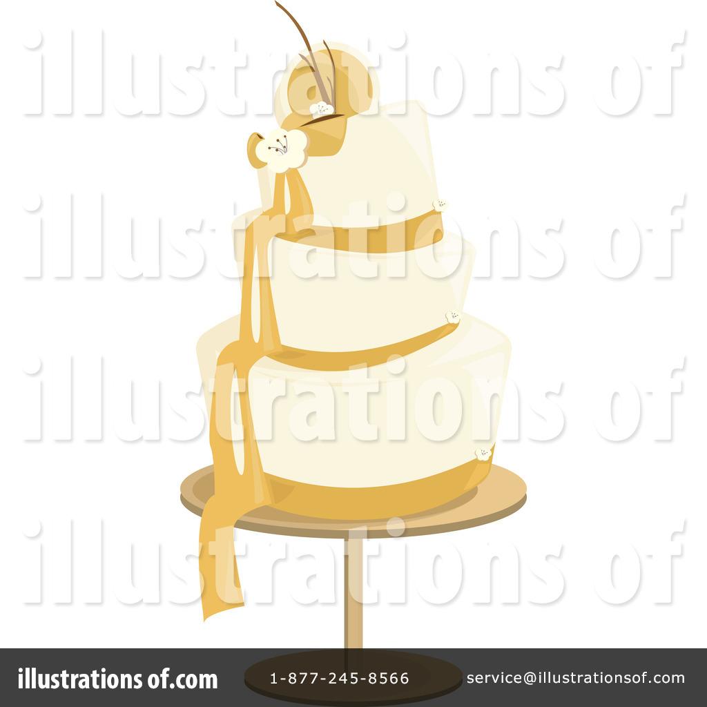 Wedding Cake Clipart 1093170 Illustration by Randomway