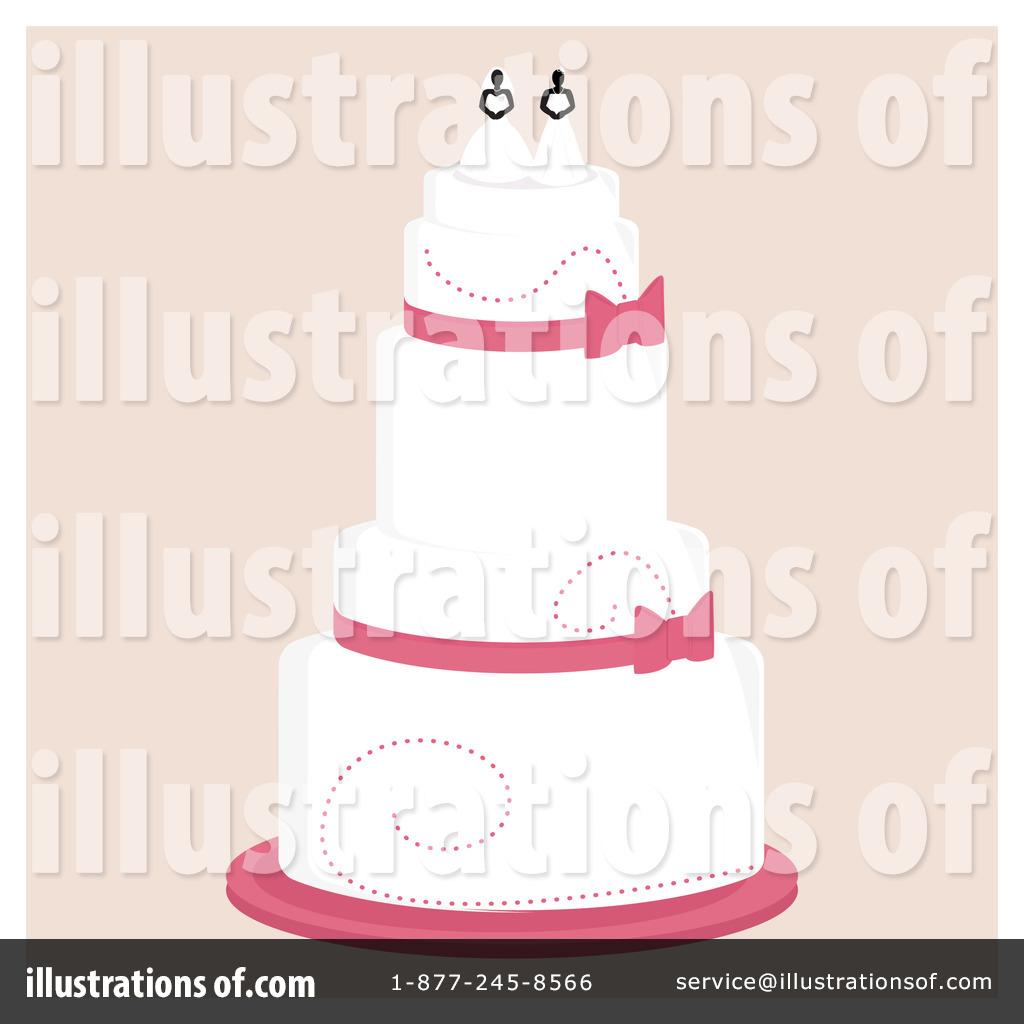 Wedding Cake Clipart 1093172 Illustration by Randomway