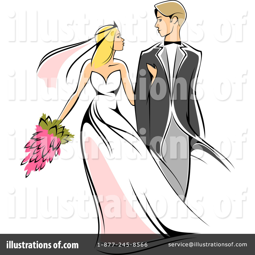 wedding couple clipart 1064911 illustration by vector tradition sm rh illustrationsof com wedding couple clipart cartoon wedding couple clipart cartoon
