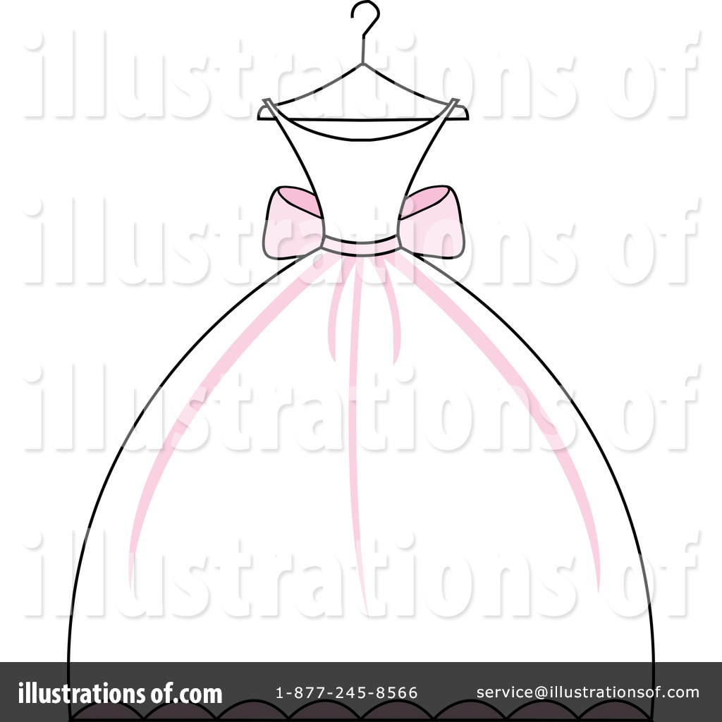 Wedding Dress Clipart.Wedding Dress Clipart 97051 Illustration By Pams Clipart