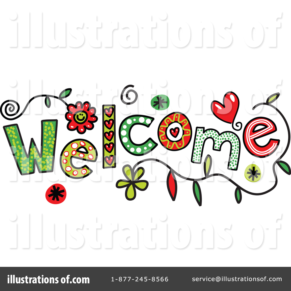 welcome clipart 1341351 illustration by prawny rh illustrationsof com Welcome Templates Free free clipart images welcome back