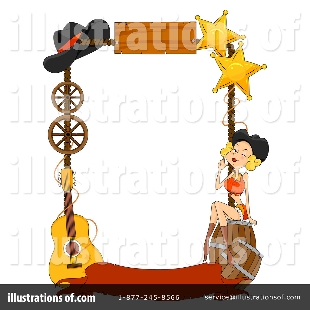 Western Clipart Illustration By BNP Design Studio - Western clipart