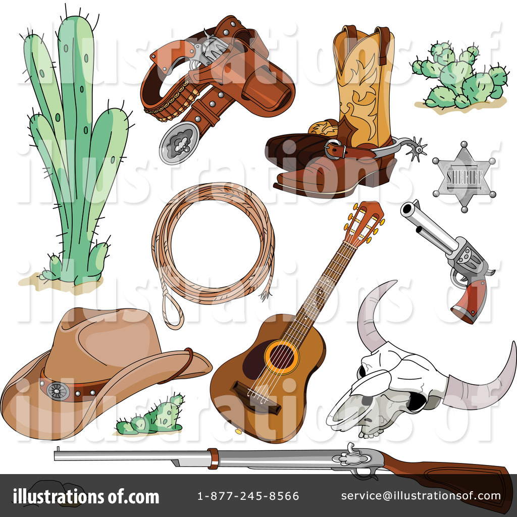 western clipart 1307681 illustration by pushkin rh illustrationsof com free western clip art border free western clipart for kids