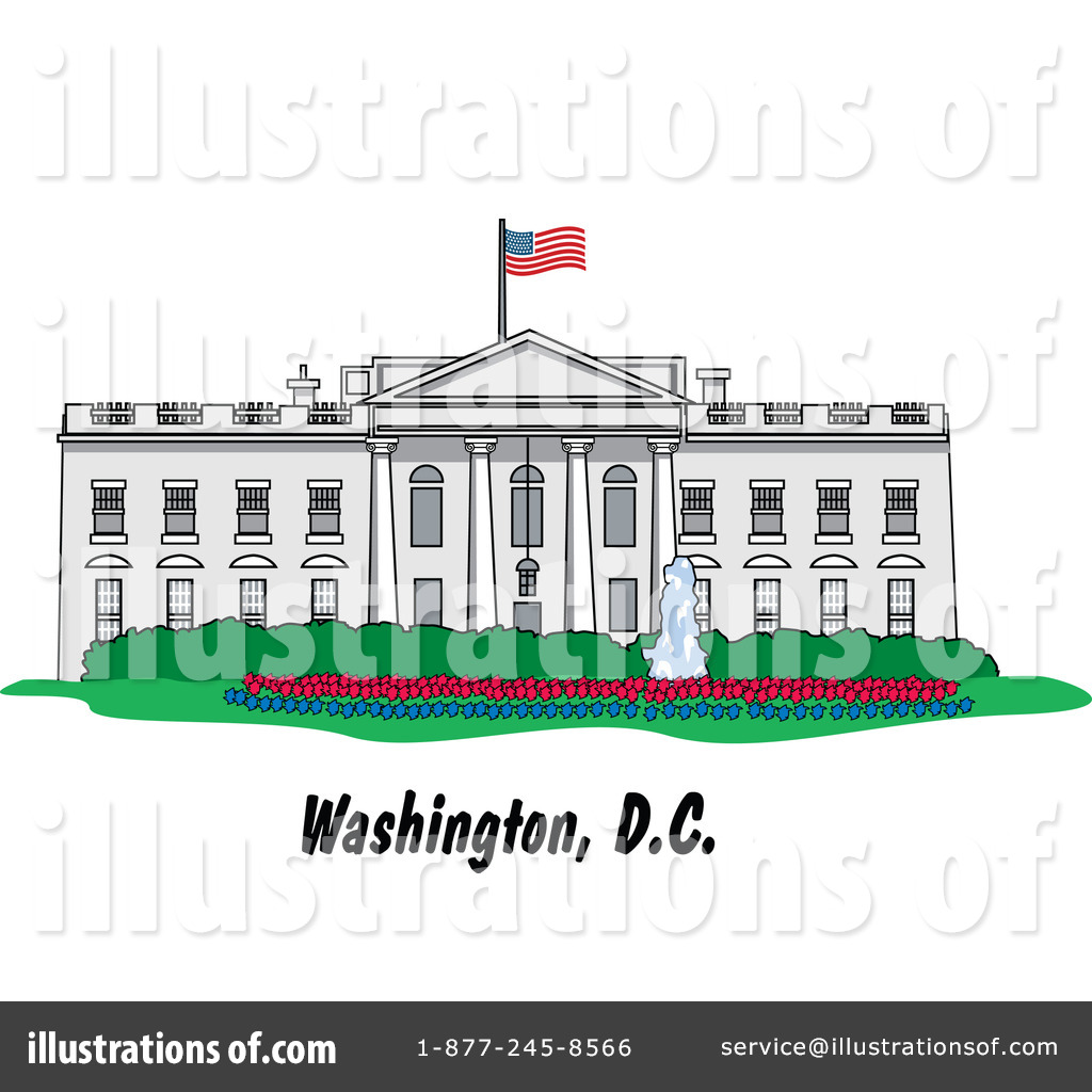Clip Art White House Clipart white house clipart 1074703 illustration by andy nortnik royalty free rf stock sample