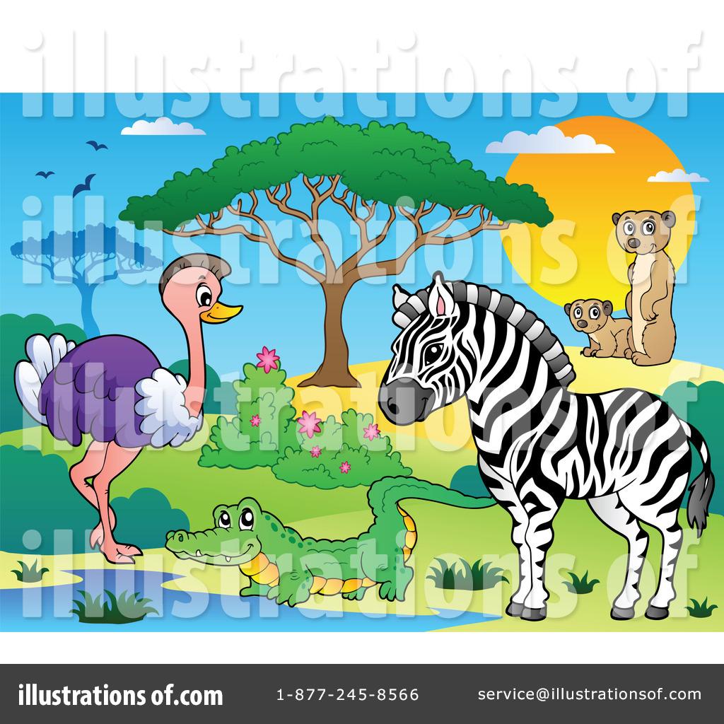 Wildlife Clipart #1090377 - Illustration by visekart
