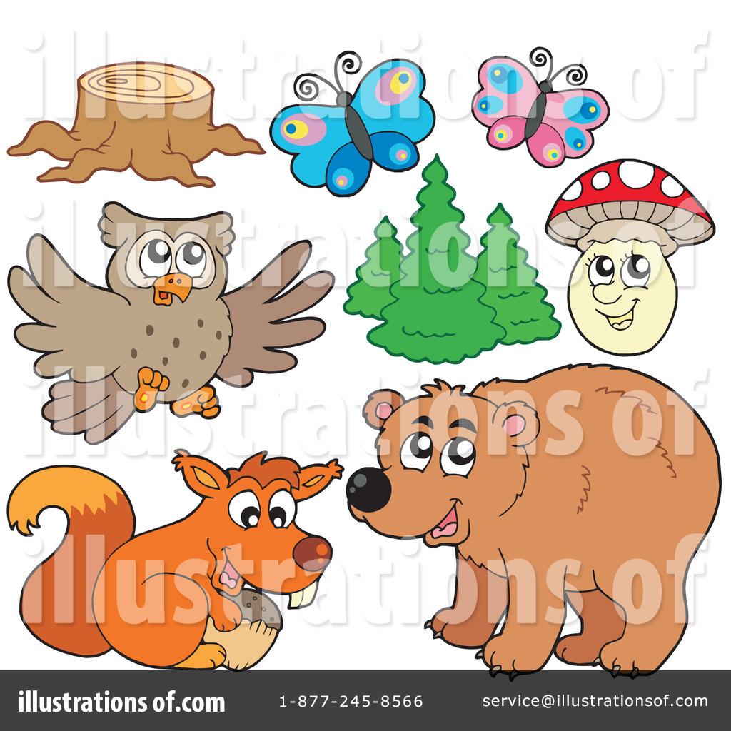Tree Stump Clipart #1100753 - Illustration by visekart