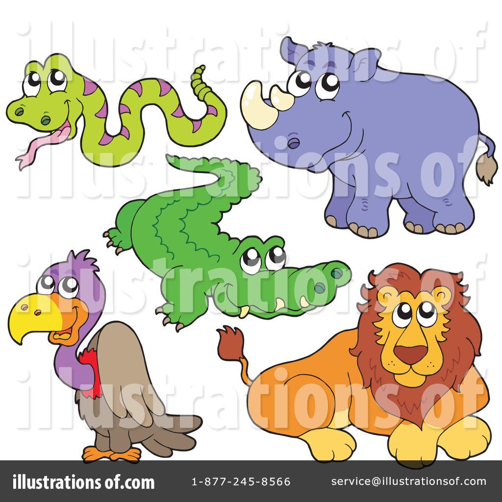 Wildlife Clipart #212420 - Illustration by visekart