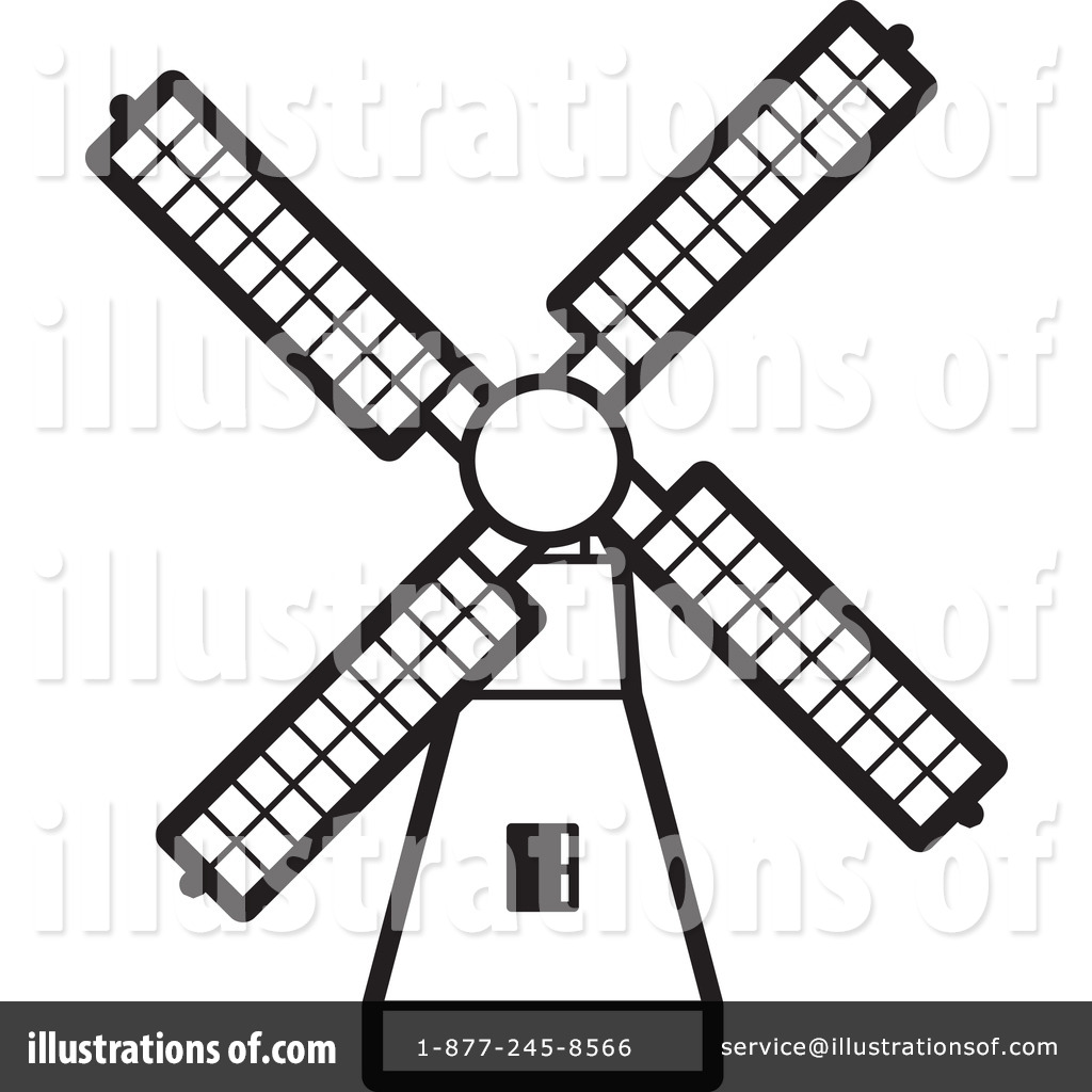 Clip Art Windmill Clipart windmill clipart 1244094 illustration by lal perera royalty free rf 1244091