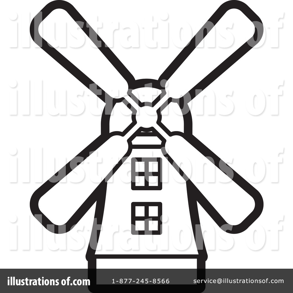 windmill clipart 1244094 illustration by lal perera rh illustrationsof com windmill clip art free windmill clipart gif