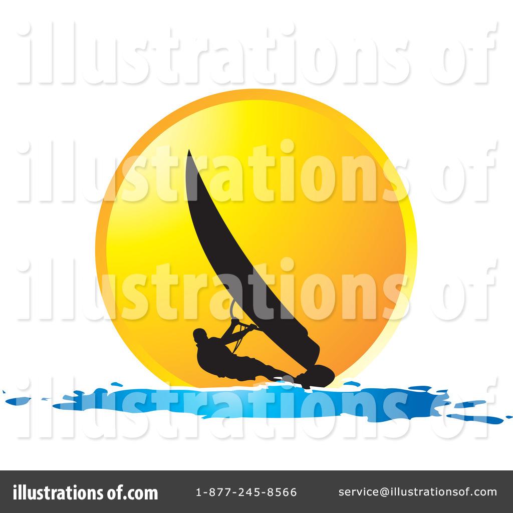 windsurfing clipart 1224328 illustration by lal perera Cartoon Sun Bathing Beach Bum Clip Art