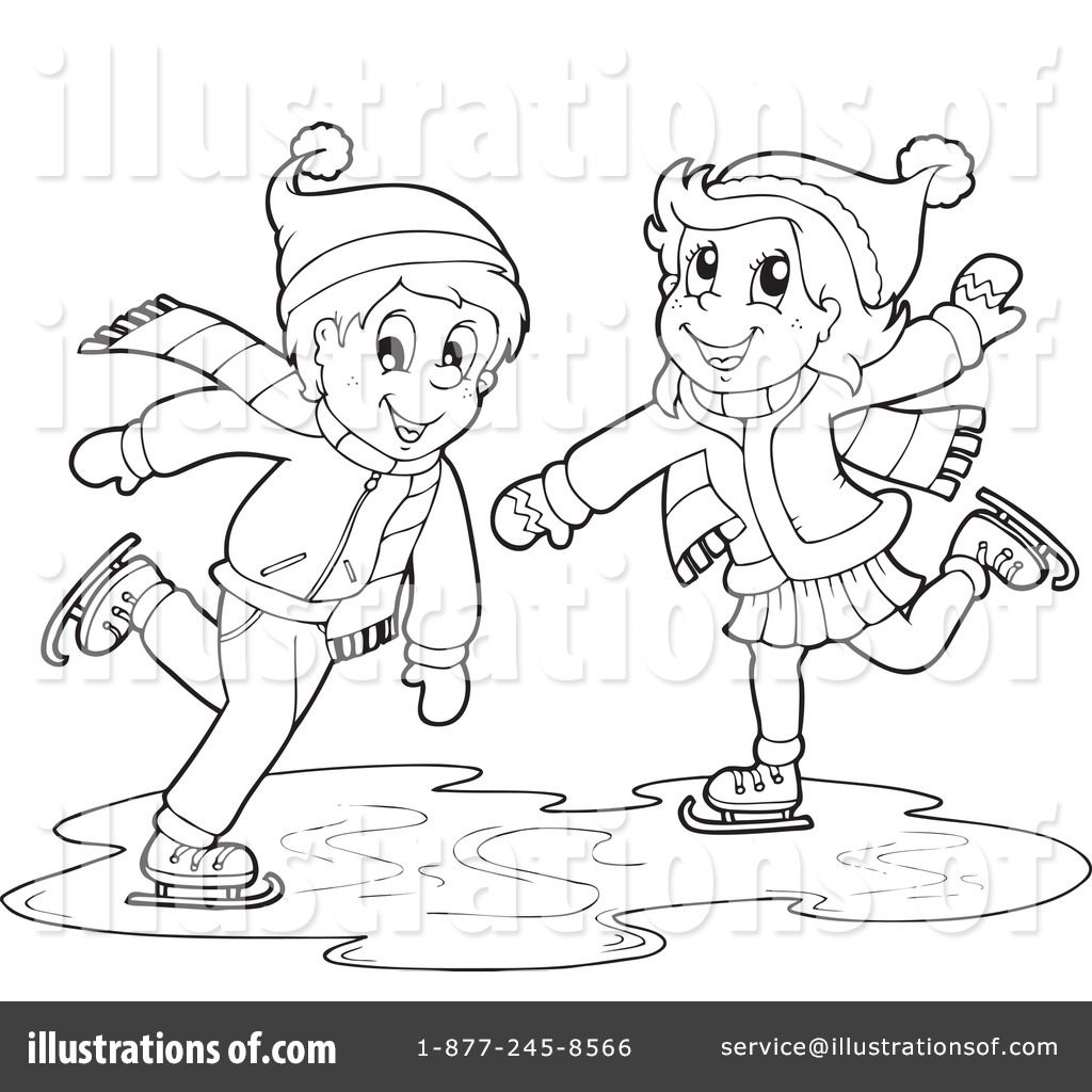 Winter Clipart 1084796 Illustration By Visekart