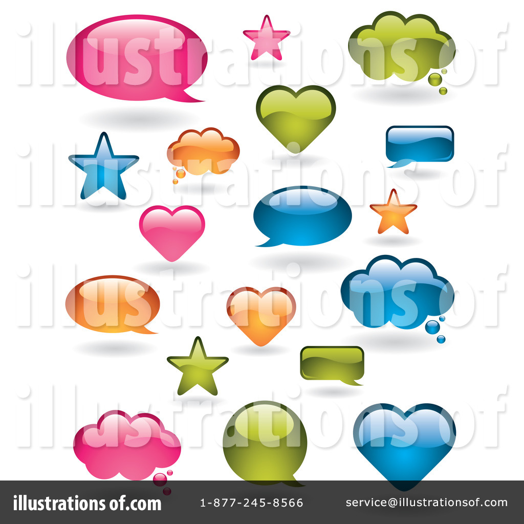 word bubble clipart 93371 illustration by ta images