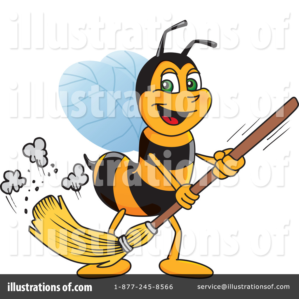 Worker Bee Character Clipart 216573 Illustration By Toons4biz