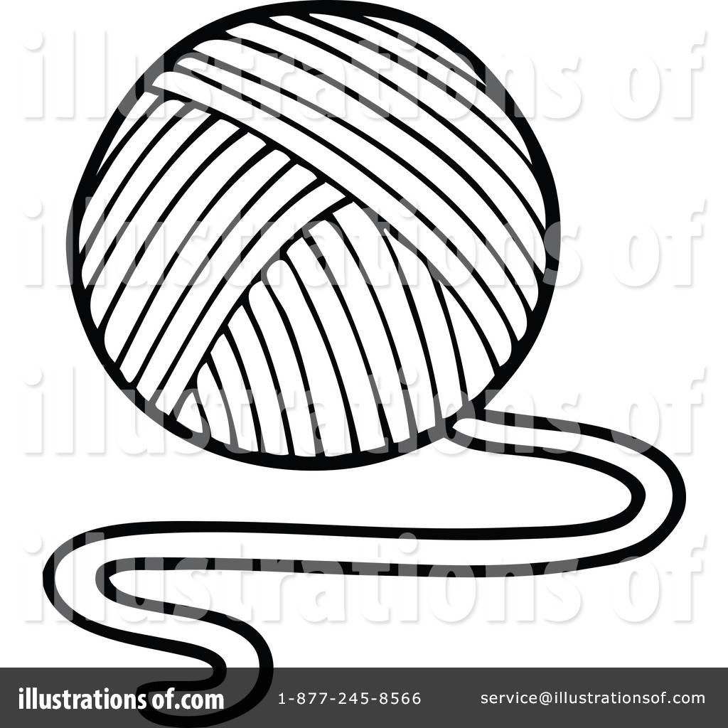Yarn Clipart #1266777 - Illustration by visekart