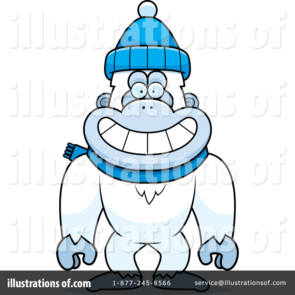 Yeti Clipart #1306177 - Illustration by Cory Thoman
