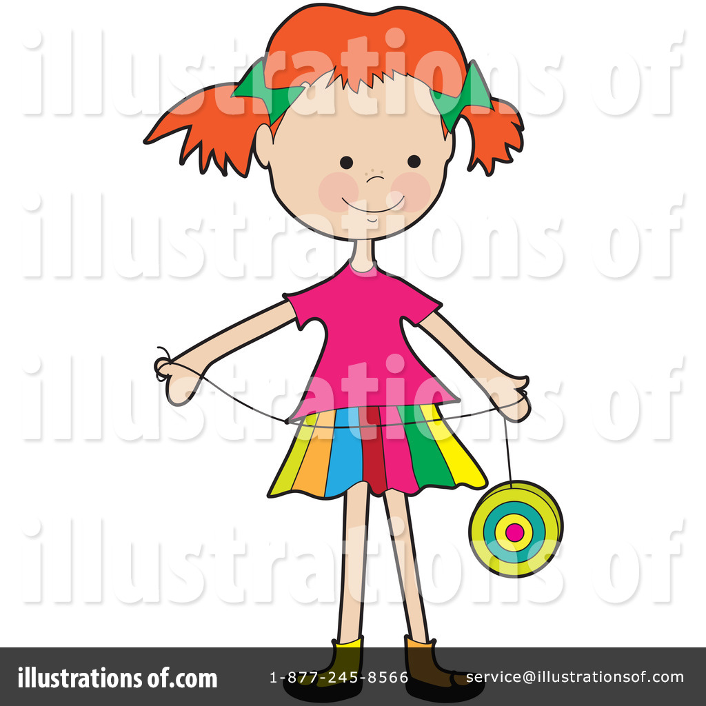 Yoyo Clipart #1089745 - Illustration by Maria Bell for Clipart Yoyo  61obs
