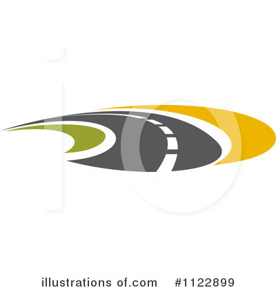 Road Clipart #1122899 - Illustration by Vector Tradition SM
