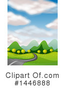 Road Clipart #1446888 by Graphics RF