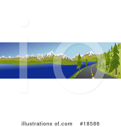 Road Clipart #18586 by Rasmussen Images