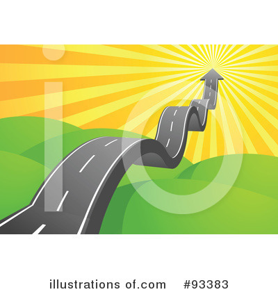 Royalty-Free (RF) Road Clipart Illustration by Qiun - Stock Sample #93383