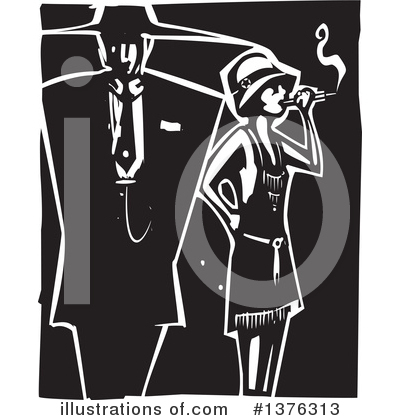 Flapper Clipart #1376313 by xunantunich