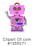 Robot Clipart #1355271 by stockillustrations
