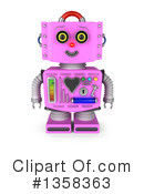 Robot Clipart #1358363 by stockillustrations