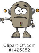 Robot Clipart #1425352 by toonaday
