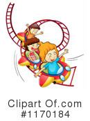 Roller Coaster Clipart #1170184 by Graphics RF