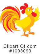Rooster Clipart #1098093 by Alex Bannykh