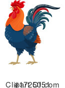 Rooster Clipart #1725051 by Vector Tradition SM
