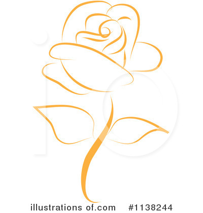 Rose Clipart #1138244 - Illustration by Vitmary Rodriguez