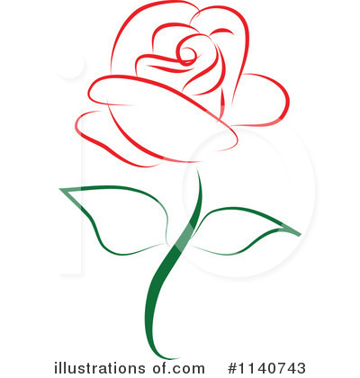 Rose Clipart #1140743 by Vitmary Rodriguez
