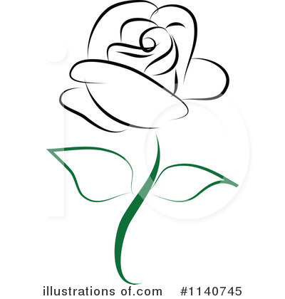 Rose Clipart #1140745 by Vitmary Rodriguez