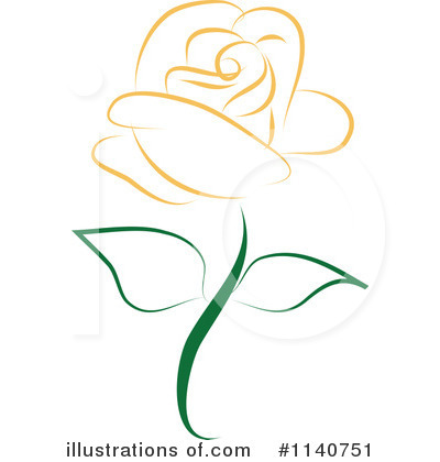 Rose Clipart #1140751 by Vitmary Rodriguez