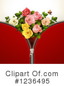 Rose Clipart #1236495 by merlinul