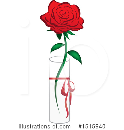 Rose Clipart #1515940 by Vitmary Rodriguez