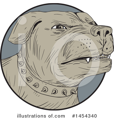 Rottweiler Clipart #1454340 by patrimonio