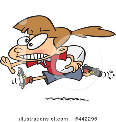 Rugby Clipart #442296 - Illustration by Ron Leishman