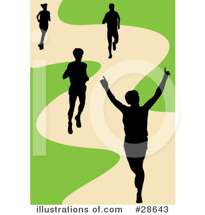 Jogging Clipart #28643 by KJ Pargeter